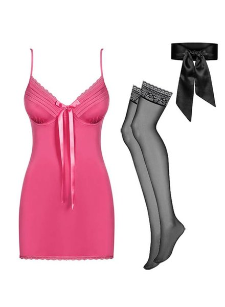 KINGA Geschenkset Blackardi Pink 5 Teilig