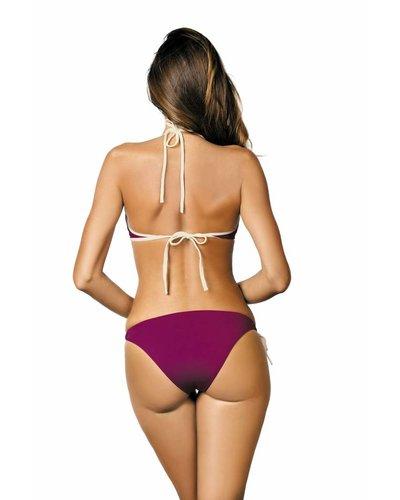 Beth Purple Schalen Bikini