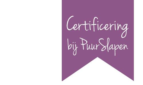 banner Certificeringen en keurmerken PuurSlapen.nl