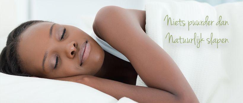 slider PuurSlapen, natuurlijk goed slapen