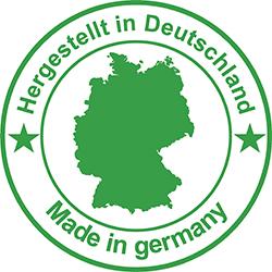 logo Hergestellt in Deutschland Germany, PuurSlapen