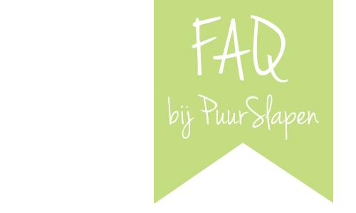 banner FAQ, PuurSlapen