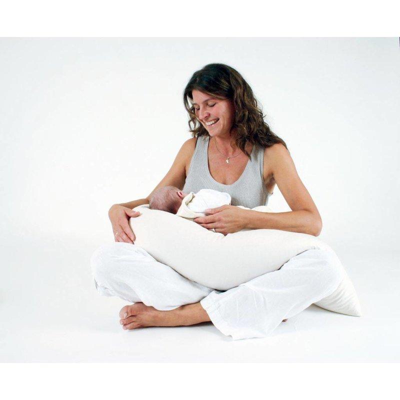 Mudis Zwangerschapskussen 190x30, diverse kussenvullingen.