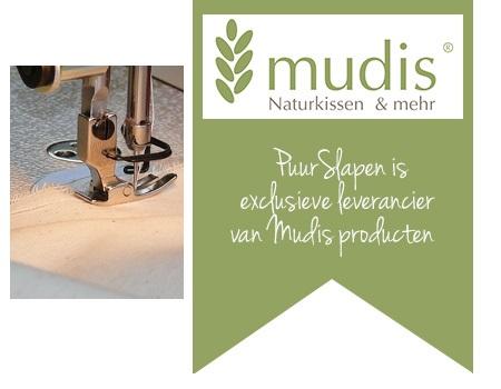 Banner meer over Mudis atelier