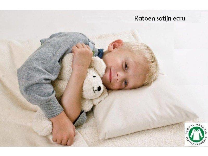 Mudis Mudis® kussensloop 30x45, Bio katoen (satijn/flanel/pluche en leuke prints).