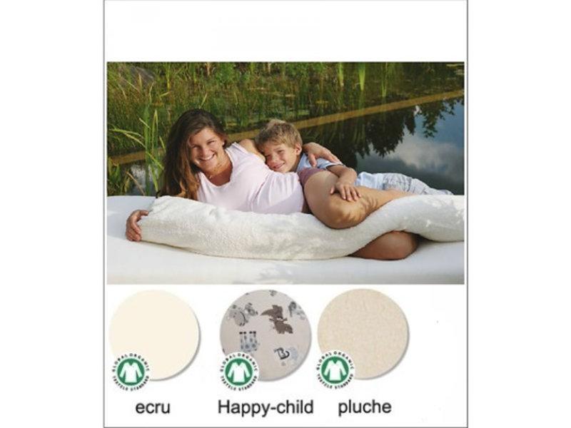 Mudis Mudis® overtrek 190x30, verkrijgbaar in de uitvoeringen satijn/flanel/pluche en leuke prints.