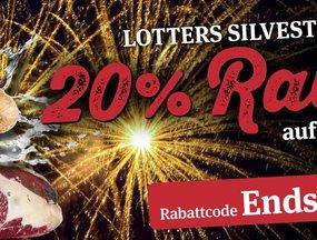 20 % Rabatt - Silvesterknaller