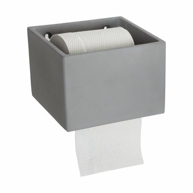House Doctor House Doctor toilet paper holder concrete