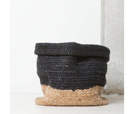 Urban Nature Culture Amsterdam Urban Nature Culture burlap basket blue