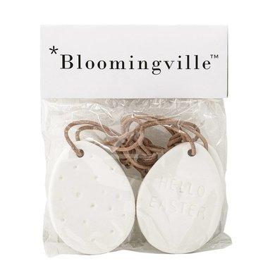 Bloomingville Bloomingville deco Pasen  wit