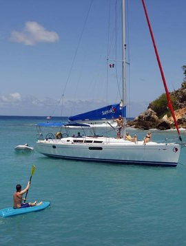 TSC 6-15 november: Zeilen in de Caribbean