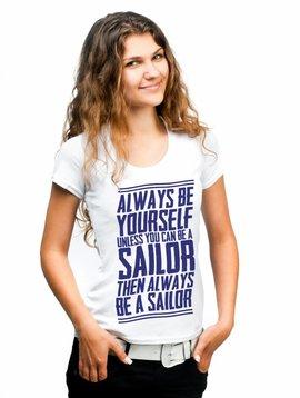 TSC T-Shirt 'Always Be A Sailor'