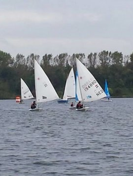 Roermond 8 juli, kennismaking wedstrijdzeilen
