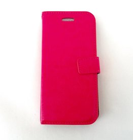Iphone6 bookcase roze
