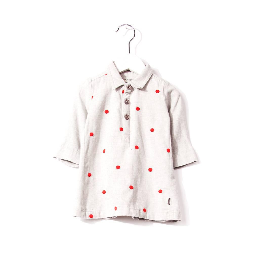 Imps  u0026 Elfs Dress Dots   Grey   Sneek NL