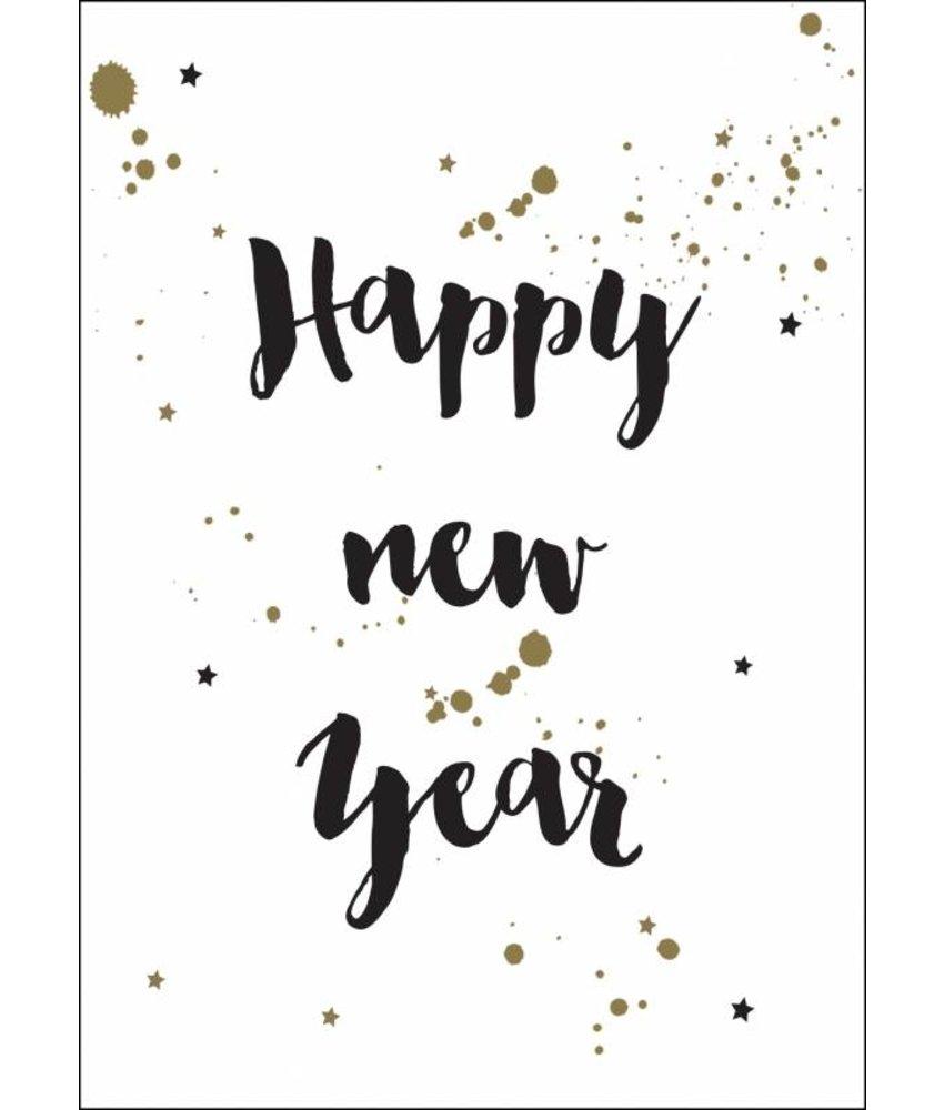 Kekootje Happy New Year - Single Card