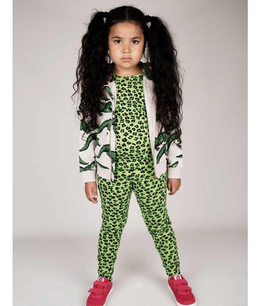 Mini Rodini Leopard Short Sleeve T-shirt
