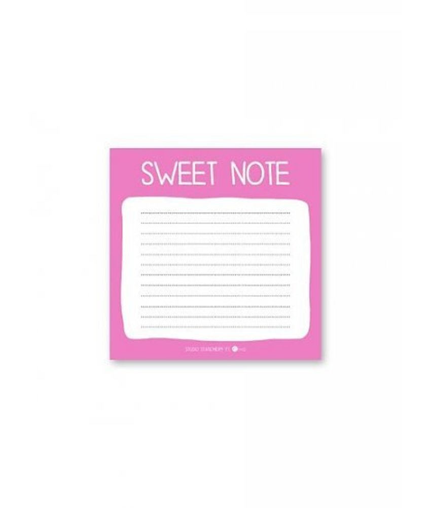 Studio Stationery Mini Note - Sweet note