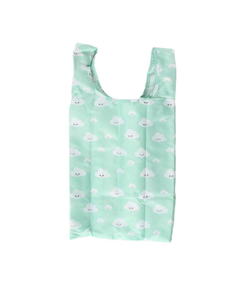 Eef Lillemor Easy Folding Bag – Clouds