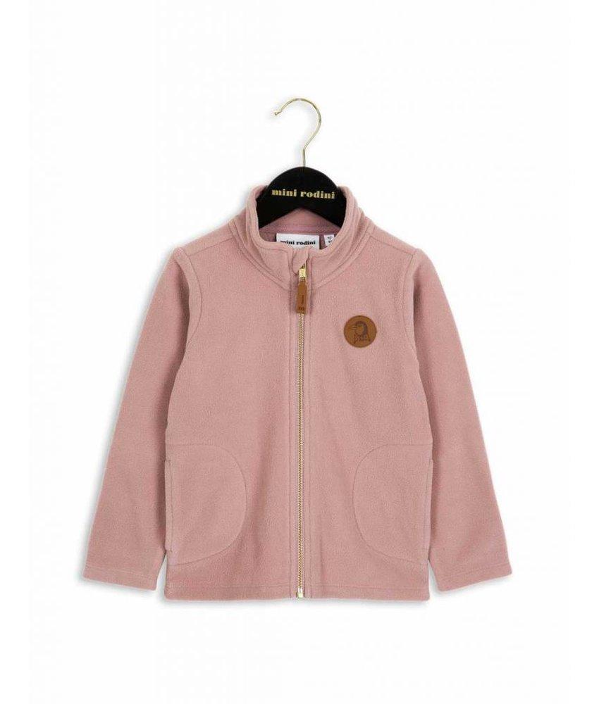 Mini Rodini Fleece Jacket - Pink