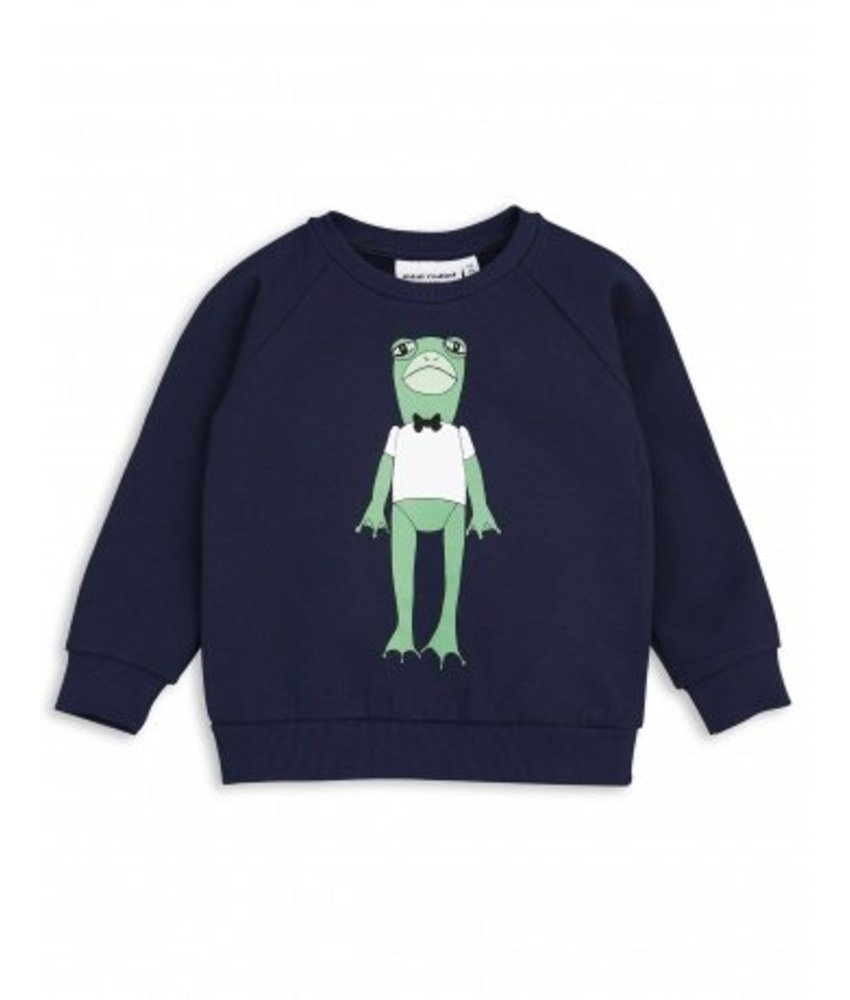 Mini Rodini Frog SP Sweatshirt - Navy