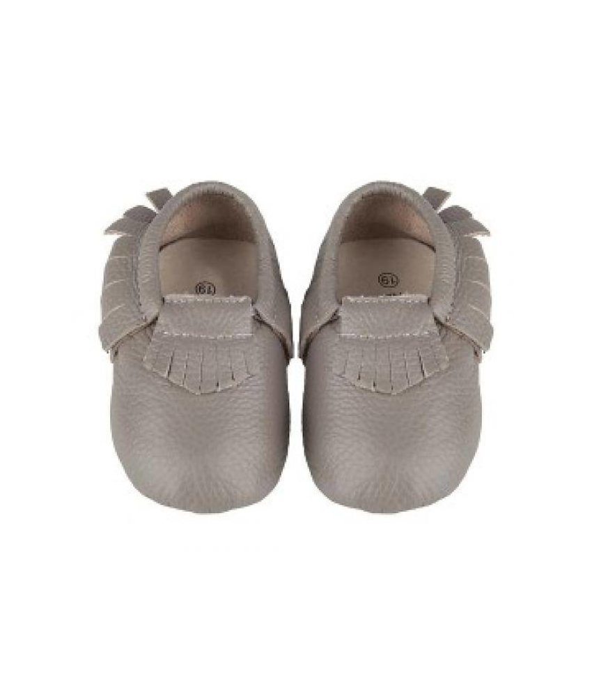 Little Indians Indian Feet - Leather Grey