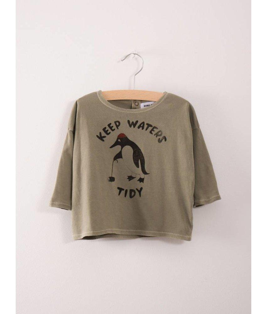 Bobo Choses Baby T-Shirt Keep Waters Tidy