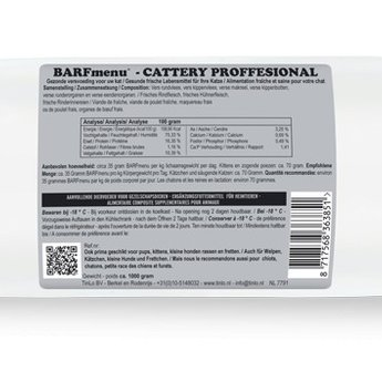 BARFmenu® Cattery *Professional*