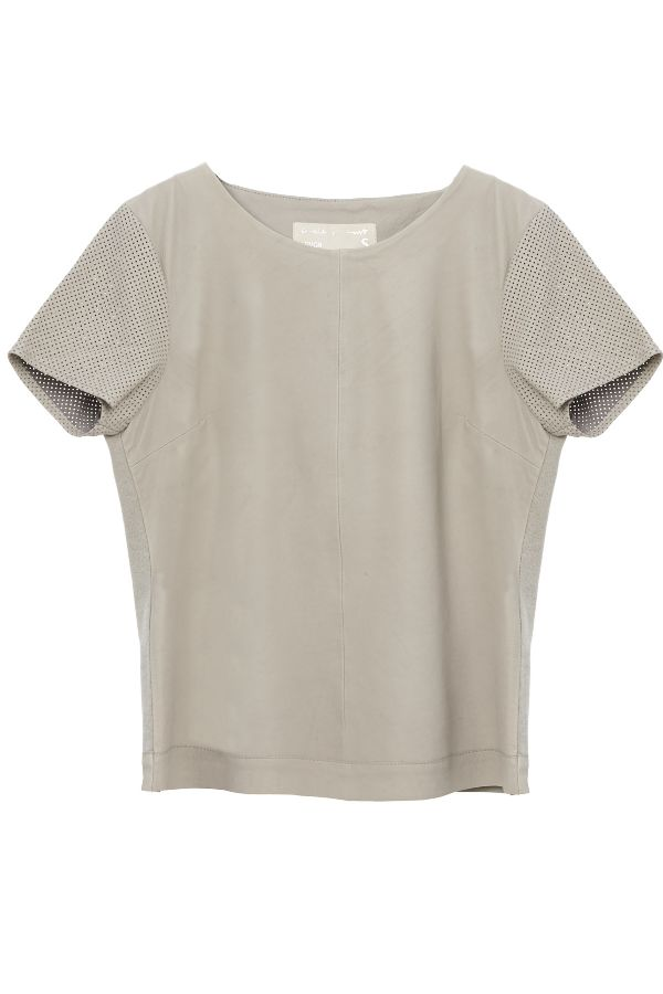 Circle of Trust Leather Top - Summerskin