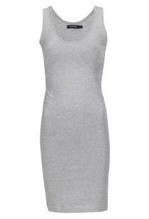 Moscow Singlet U-Neck Long - Grey