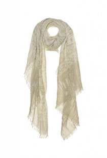 Circle of Trust Batik Scarf - Cream