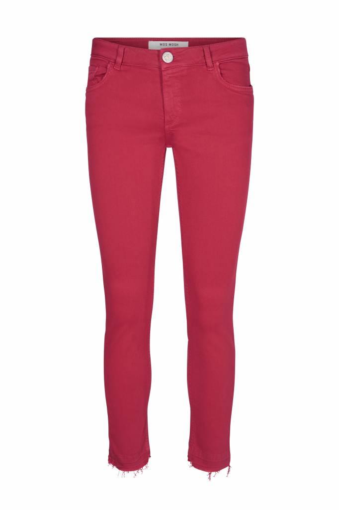 Mos Mosh Sumner Colour Pants - Cherry