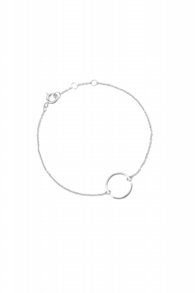 All The Luck In The World Bracelet Circle - Silver