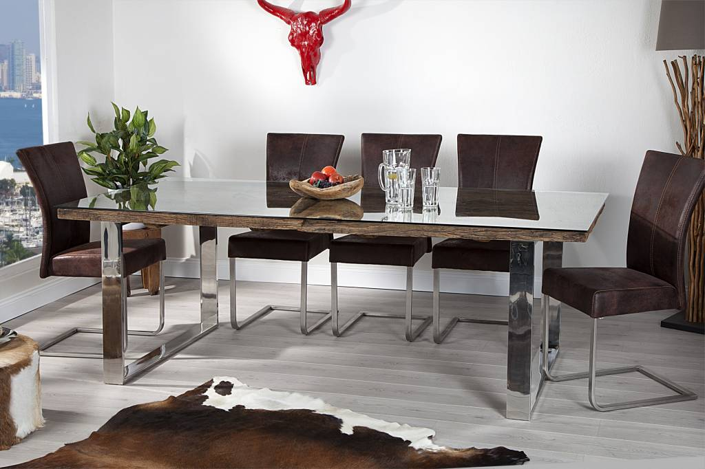 tafel barracuda met glasplaat hotrats. Black Bedroom Furniture Sets. Home Design Ideas