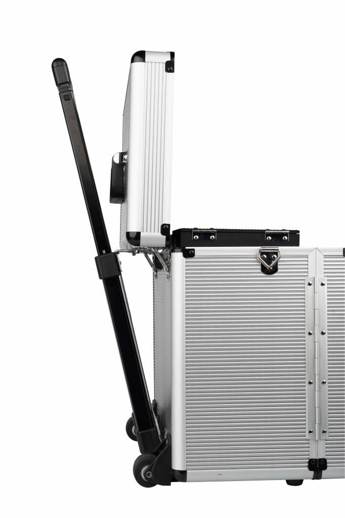 Sibel Sibel Trolley Koffer Windows Zilver