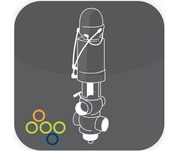 SRC Plug/Stem 2,5'' FPM 77-2,5-2V DIV