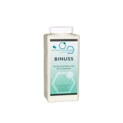 Binuss - Handreinigungscreme mit feinen Reibekörpern
