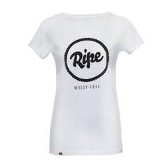 Ripe Classic Logo Tee Women White