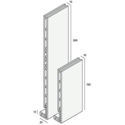 Keralit® Dakrandpaneel 150 mm (1 x 600 cm)