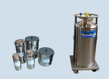 LN2 Vorrats-und Druckbehälter