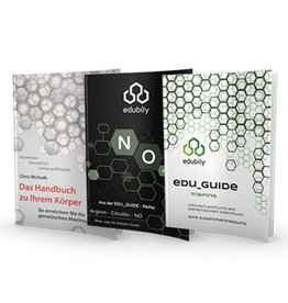 edubily BUNDLE: Unser Handbuch + NO Guide + Trainings Guide