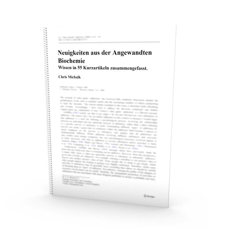 edu_guide: Neuigkeiten aus der Angewandten Biochemie