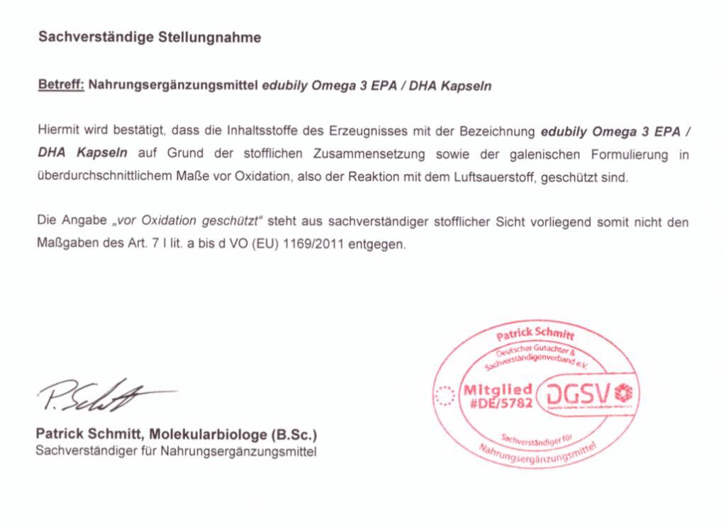 Omega 3 - EPA/DHA Kapseln