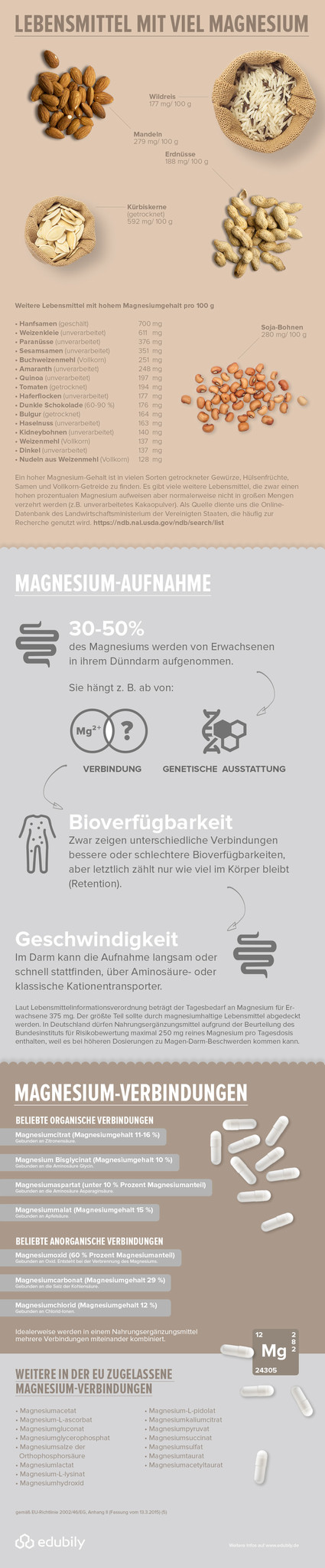 infografik magnesium formen in der bersicht edubily edubily shop. Black Bedroom Furniture Sets. Home Design Ideas