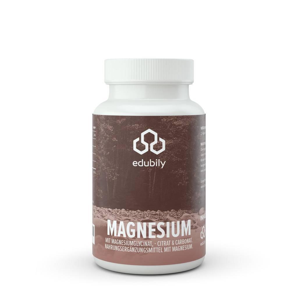 edubily Magnesium-Kapseln mit Vitamin B6