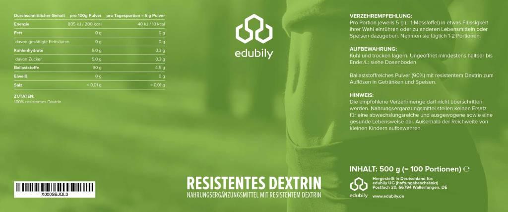 edubily Resistentes Dextrin