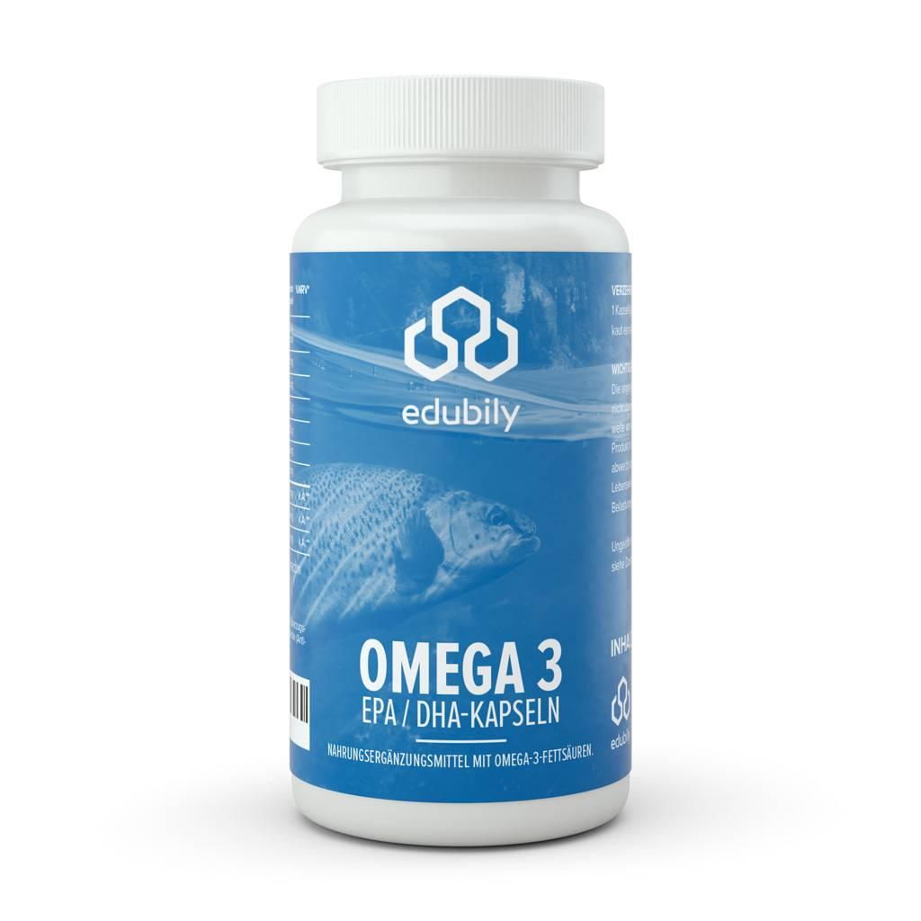 edubily Omega 3 - EPA/DHA Kapseln
