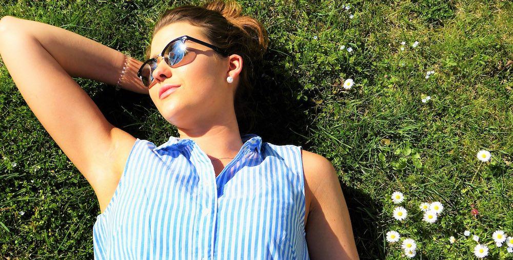 Beim Sonnenbaden bildet der Körper Vitamin D