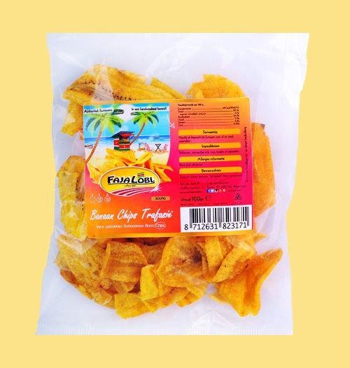 Faja Lobi Banaan Chips Trafasie 100 gr