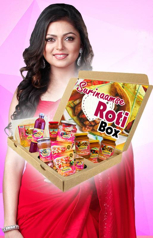 Faja Lobi Surinaamse Roti Box